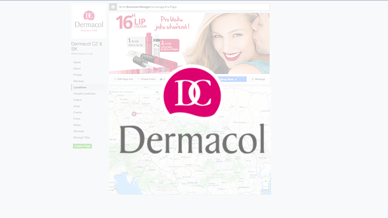 FB Locations Dermacol