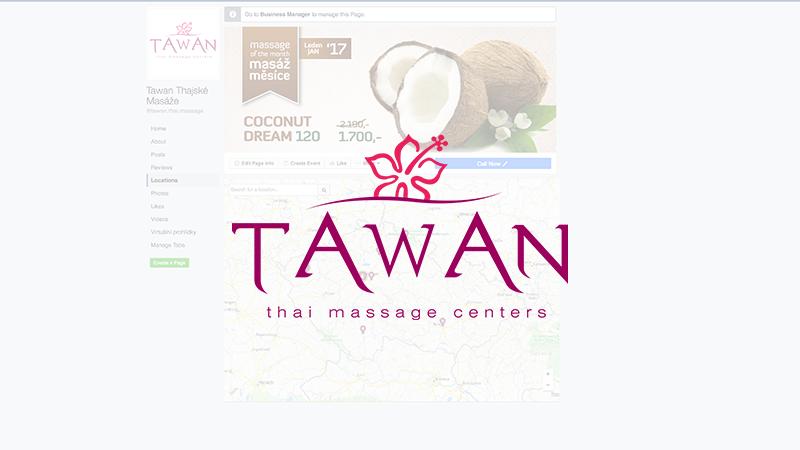 FB Locations Tawan Thajské masáže