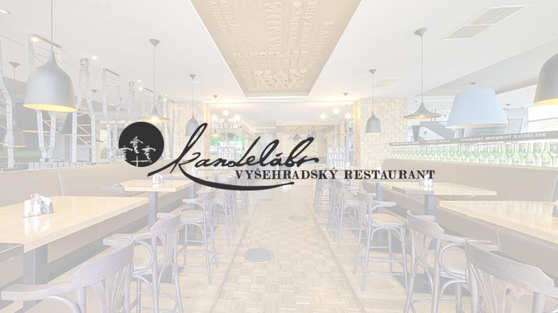 Kandelábr Restaurace Praha